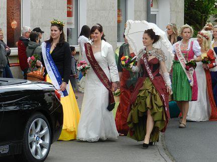 Majestäten des Blütenfestes 2014